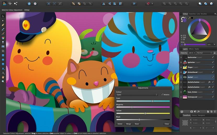 Interface de Adobe Illustrator, l'outil de création graphique vectoriel