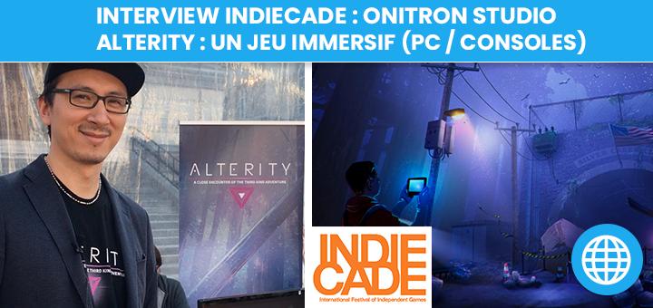 Onitron Studio : développeurs de jeux immersifs avec Alterity
