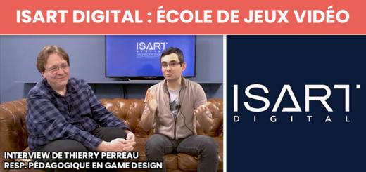 Interview ISART Digital Ecole De Jeux Video