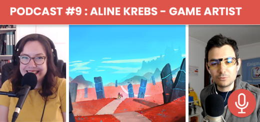 Podcast #9 - Aline Krebs : Game Artist