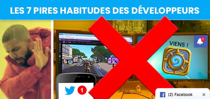 Les 7 Pires Habitudes Des Développeurs De Jeux Vidéo Au Travail