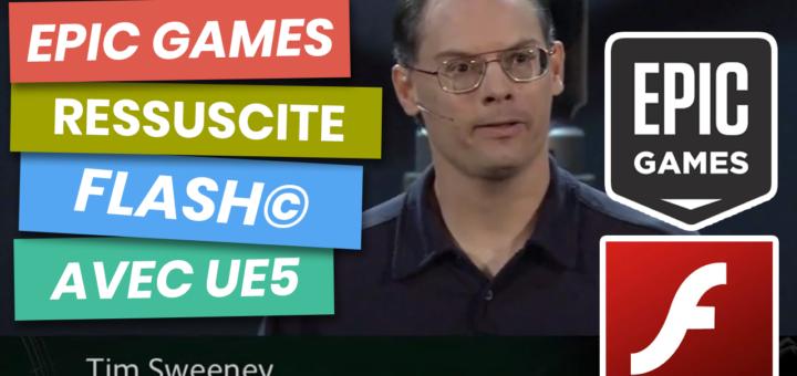 epic games ressuscite flash unreal engine 5