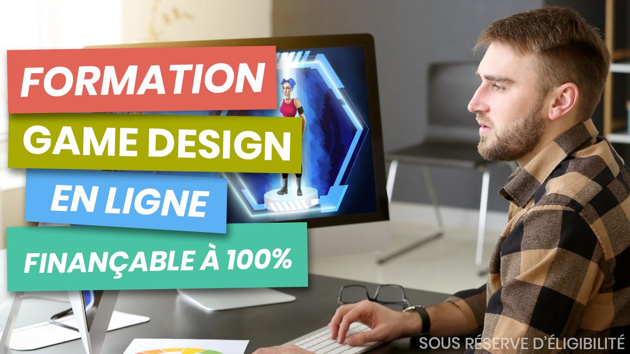 formation game designer en ligne