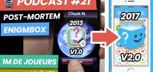 podcast 21 post mortem enigmbox 1m de joueurs et de problemes